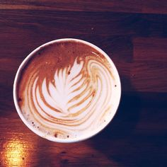 Start your day in a beautiful way. #Coffee #Art