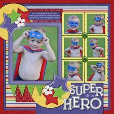 Little Super Hero - Scrapbook.com
