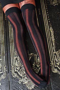 Sock Dreams - Extraordinary Vertical Striped Cotton OTK - Unique Colorful Socks