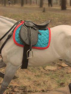 Model horse tack 1:9 Model Horse Tack by Tikhova Katerina aka Romeliena