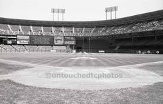 Photographed at field level pregame during a promotion day at Candlestick Park, Fuji Photo Day, on Saturday, May 1988 against the New York Mets. This was one of the few times fans were allowed on the field. Candlestick Park, Candlesticks, Baseball Park, Park Pictures, Park Art, New York Mets, San Francisco Giants, Fuji, Fields