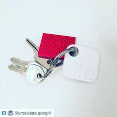 Never lose your keys again! #Repost @lilyroseisasupergirl #tiledit #tiledit  www.thetileapp.com