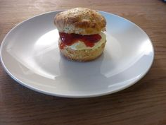 Scone with Clotted Cream & Home-made Strawberry Jam