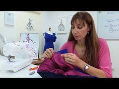 Μάθημα # 7: Πως να ετοιμάσουμε και να εφαρμόσουμε το ζωνάκι στη φούστα - YouTube