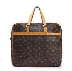 Louis Vuitton Monogram Canvas Document Pegase Briefcase Business Bag