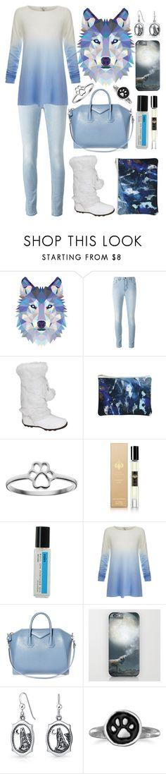 """Spirit Animals (Wolf)"" by ubiquitous-merkaba ❤ liked on Polyvore featuring Samantha Warren London, Raw Spirit, Demeter Fragrance Library, Joie, Givenchy, Bling Jewelry, BillyTheTree, sososspirits and ubispirits"