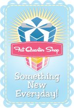 The Southern Institute: Creative Me Link Up and Giveaway; Sponsored by Fat Quarter Shop!