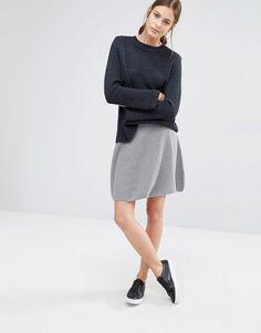 Boss Orange Ibena Waffle Knit Skirt