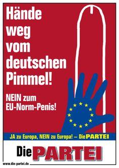 Europawahl 2014, Hände weg vom deutschen Pimmel