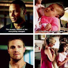 Diggle, Oliver, Felicity & Lyla #Arrow