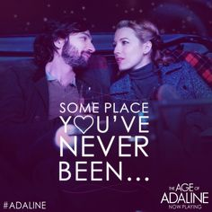 What's your idea of the perfect date? #Adaline