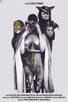 Eyes Wide Shut movie poster by Dasha Pliska.