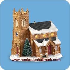 2006 Candlelight Services Old Stone Church Hallmark Ornament #9