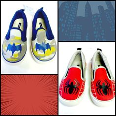 Are you Team #Batman or Team #Spiderman? Find both of these Gap + Junk shoes in #Totspotter @e&amommy's closet.