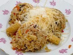 Čo na obed? Ryža so zeleninou (automatické rizoto) a nízkotučným syrom Boryna Grains, Seeds, Korn