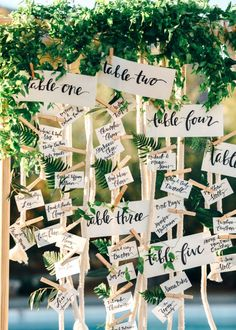 20 Clever Ways to Personalize Your Wedding via @mydomaine