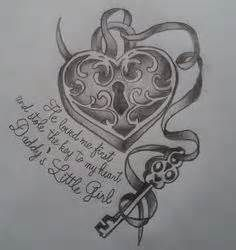 tattoo ideas with key to my heart - - Yahoo Image Search Results