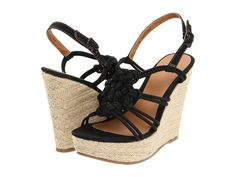 Can't stop loving these black and straw pretties!