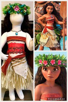 Moana/Moana outfit /Moana Crown/Moana costume/Moana