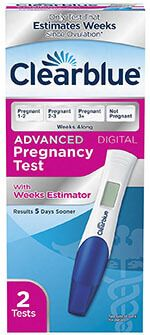 Clearblue Advanced Pregnancy Test with Weeks Estimator Best Pregnancy Test, Pregnancy Nutrition, Belly Fat Workout, Fat To Fit, Digital, Count, Women's Fashion, Polyvore