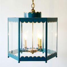 Coleen  Company - Scalloped Lantern