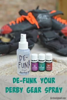 How to clean and care for your roller derby gear.