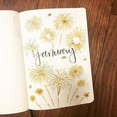 for the new year?✨🥂thanks again to for the theme😊👌🏻 ready for the new year?✨🥂thanks again to for the theme😊👌🏻 cauliflower july calligraphy bullet journal lettering tips calligraphie carnet bujo Firecrackers Vec December Bullet Journal, Bullet Journal Titles, Bullet Journal Cover Page, Bullet Journal Aesthetic, Bullet Journal Notebook, Bullet Journal Spread, Bullet Journal Inspo, Journal Covers, Bellet Journal