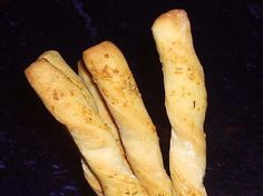 #ultimatethanksgiving  Rosemary-Garlic Breadsticks. Photo by Fairy Nuff.  The flavor combination just can't be beat.  Again, the reasoning for this choice for my Thanksgiving is that I grow garlic and rosemary.  These bread sticks are easy to make and the taste combination just can't be beat.
