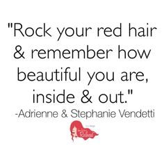Rock Your #RedHair!