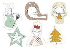 imprimibles gratis - free printables - Christmas tags