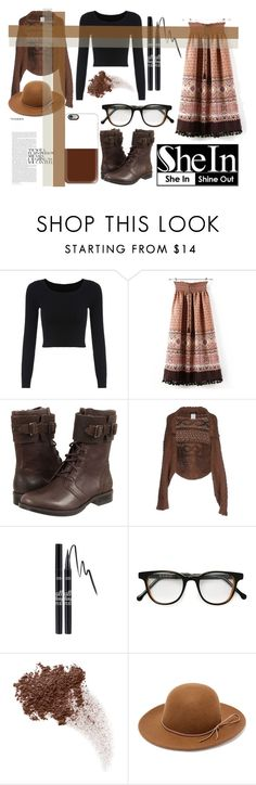 """""""Fun Fashion"""" by hesterstan ❤ liked on Polyvore featuring WithChic, UGG Australia, Y's by Yohji Yamamoto, Cutler and Gross, Bare Escentuals, RHYTHM and Casetify"""