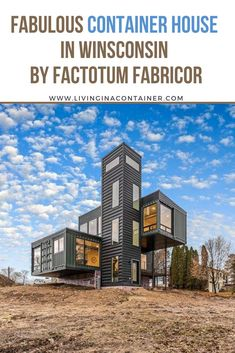 Shipping Container Buildings, Cargo Container Homes, Shipping Container Home Designs, Shipping Container House Plans, Building A Container Home, Storage Container Homes, Container House Design, Tiny House Design, Shipping Containers