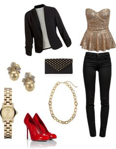 """Christmas Eve Outfit"" by jessieleigh16 on Polyvore"