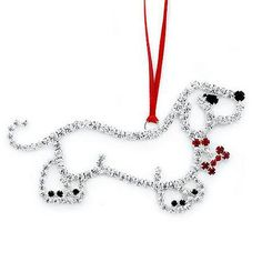 Bling It On! Crystal Dachshund Ornament at HSN.com