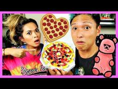 PIZZA GUMMY CANDY TASTE TEST!!!