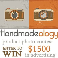 Hi everyone,  I entered Handmadeology's photo contest, would love to invite all of you to Like my Photo: http://on.fb.me/1tZYNqB   Don't forget You've Got To Like The Photo, untill the 6th of JUNE.  Thanks very much.