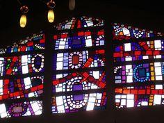 Dalle de Verre Window | Hillmorton's Roman Catholic church o… | Flickr