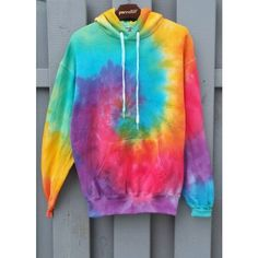 Bright Tie-Dye Hoodie, colorful, new, hipster, tumblr ($34) ❤ liked on Polyvore featuring tops, hoodies, sweatshirt hoodies, tie dye hoodies, tye dye hoodie, colorful hoodies and hipster tops