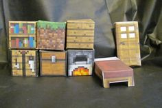 Minecraft block building set