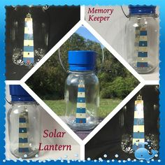 Memory KeeperSolar Light by CraftyToucanShop on Etsy