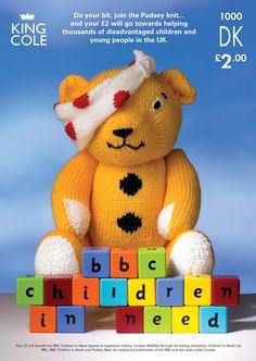 Pudsey Bear Knitting Pattern : Innocent Big Knit Hat Pattern - Pudsey Bear Knitting patterns Pinterest ...