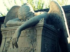The Angel of Grief - just one glimpse says it all...