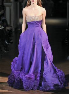 givenchy S\10 haute couture - royal purple