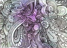 Zentangle ..... Synchronicity 1 by Artwyrd on DeviantArt