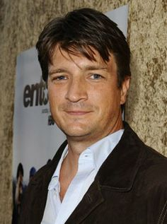 Nathan Fillion March 17 1971 Edmonton Alta, he has 54 titles to his credit including One Life to Live, Serenity, Slither, Saving Private Ryan and presently on TV in Castle.