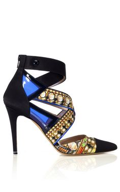 More Nicholas Kirkwood love for this jewel of a #shoeoftheday