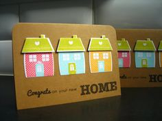Housewarming Card Congratulations on your New by apaperaffaire