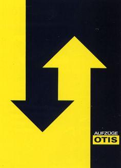 Otis Poster by Josef Müller-Brockmann (1914 – 1996) | Swiss graphic designer and teacher.