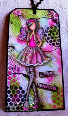 Claire's Crafty Creations: Social Butterfly