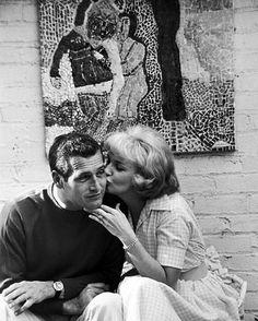 "391 Me gusta, 7 comentarios - @vintage_retro.world en Instagram: ""Paul Newman and Joanne Woodward #vintage #retro #goldenera #silverscreen #goldenage #oldhollywood…"""